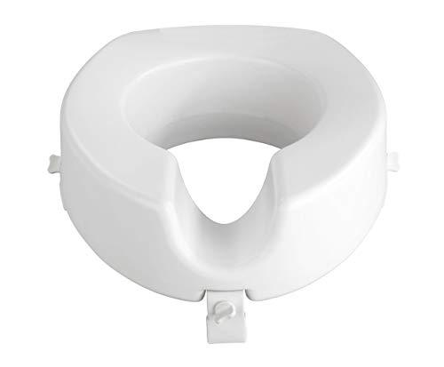 WENKO WC Sitz-Erhöhung Secura - 150 kg Tragkraft, Kunststoff, 41.5 x 17 x 44 cm, Weiß*