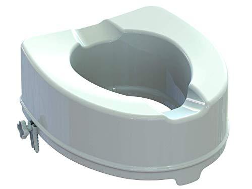 GIMA AR14PP11 Toilettensitzerhöhung mit Befestigungssystem, Höhe 14 cm*