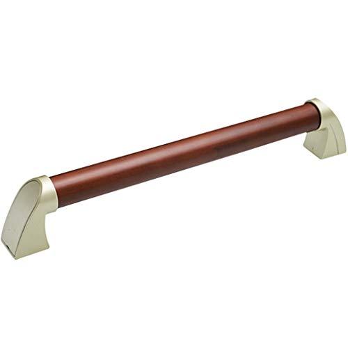 YHRJ Badewannengriff Badewannengeländer Badesicherheit rutschfeste EIN-Wort-Handläufe,Toilettengriff aus natürlichem Kiefernholz für den Haushalt,Kann 150 kg tragen (Color : A-44CM)
