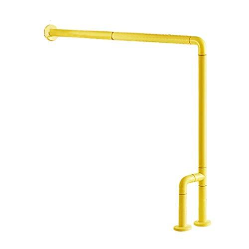 QAQA Haltegriffe für Badezimmer, gelb, für Senioren, Behinderte, Kinder, barrierefreier Griff, Badezimmer, Dusche, Badewanne, WC, Badehilfe, Badewannengeländer, Parent