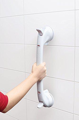 Eurosell - Profi Badewannen / Dusche / WC Griff Aufstehhilfe Badewannengriff Haltestange Vakuum Stange (XL)*