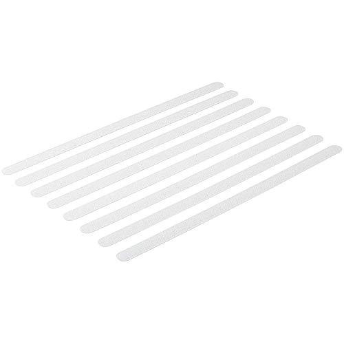 Anti-Rutsch Streifen für Dusche-n, Badewanne-n, transparent, selbstklebend, Rutsch-Schutz R11