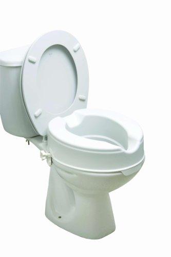 Drive Medical 12066 Erhöhter Toilettensitz, ohne Deckel, 15cm*
