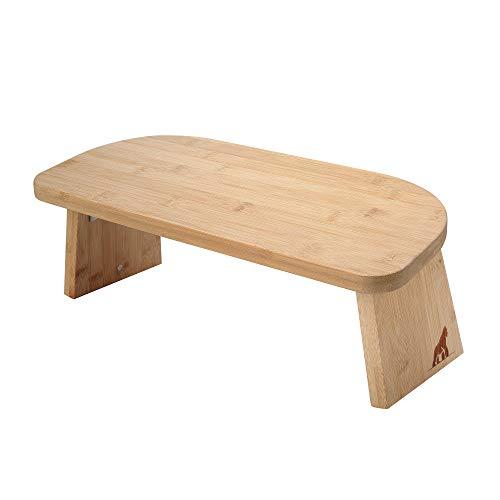 MY FAT GORILLA Meditationsbank Klappbar aus Bambus - Yoga Hocker einklappbar - Sitzbank für Tiefe Meditation