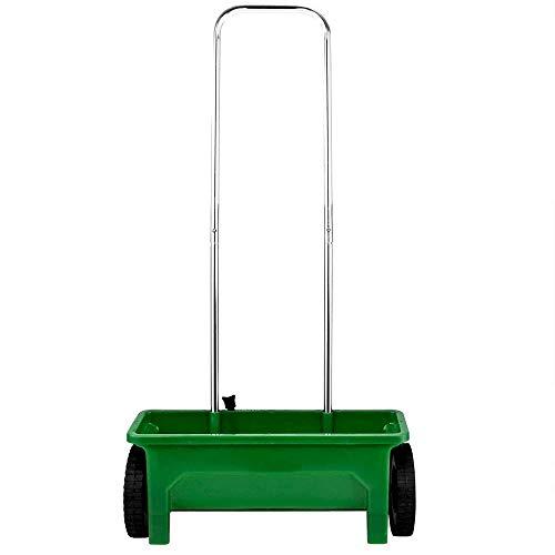 Teien Universal Streuwagen 12 Liter - 108 cm lang und 45 cm Streubreite mit Einstellbarer Dosierung