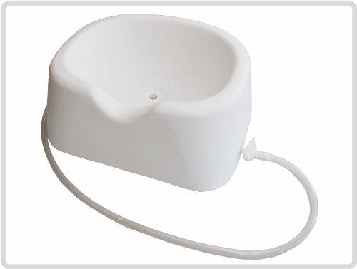 Kopfwaschwanne, Haarwaschwanne, Haarwaschbecken, Bettwaschwanne aus Kunststoff