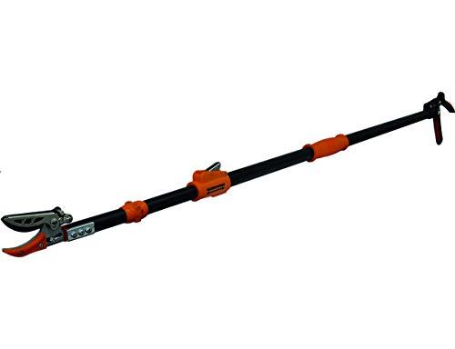 Garten Primus Rosenschere, RosenKavalier teleskopierbar, schwarz / orange, 137,5 x 9 x 3,1 cm, 01410