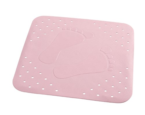 RIDDER 67282-350 Duscheinlage ca. 54 x 54 cm, Plattfuß rosa*