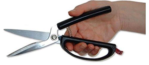 Küchenschere selbstöffnend Haushaltsschere Allzweckschere Schere für die Küche Easi-Grip PETA