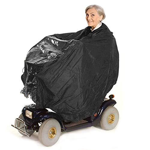 Bramble - Universal Rohlstuhl Poncho mit Kapuze zum Regenschutz & Windschutz
