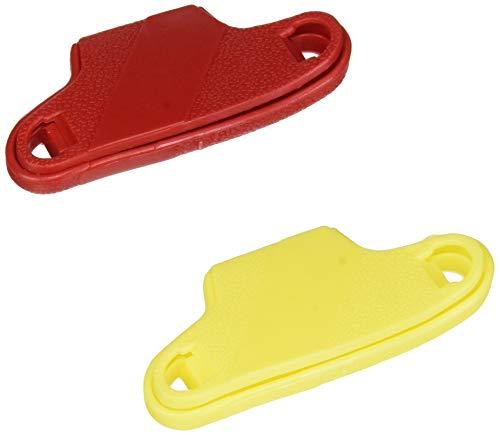 Gima - Schlüsseldrehhilfe; dieses Hilfsmittel vergrößert die greifbare Oberfläche des Schlüssels und minimiert den Kraftaufwand; für ältere und behinderte Personen, für Einzelne Schlüssel, 2 Stück