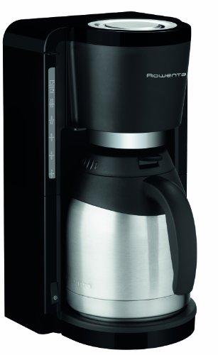 Rowenta CT 3818 Kaffeemaschine Milano, Filterkaffemaschine, Edelstahl-Isolierkanne, 10-15 Tassen 850 Watt, schwarz