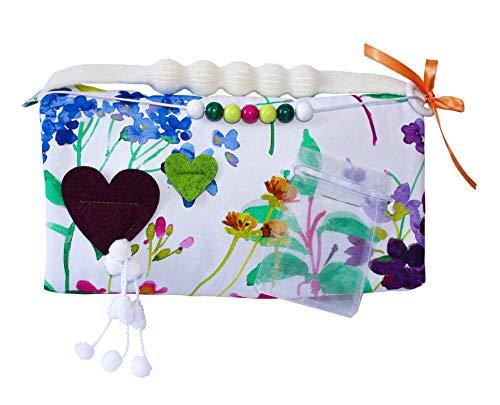 Feelimu Hand Muff - Flora - Beschäftigung für Demenz Alzheimer Autismus Pflege Patienten - das ideale Geschenk für unsere Liebsten