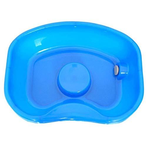 Medizinische Patientenpflege Shampoo-Becken - Waschen Sie das Haar im Bett, Tragbare Medizinische Easy-Bed-Shampoo-Kunststoff-Becken-Haarwaschtablett Ältere Behinderte Waschbecken