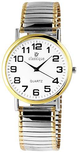 Classique Herren – Uhr Zugarmbanduhr Metall Analog Quarz 2700011-002