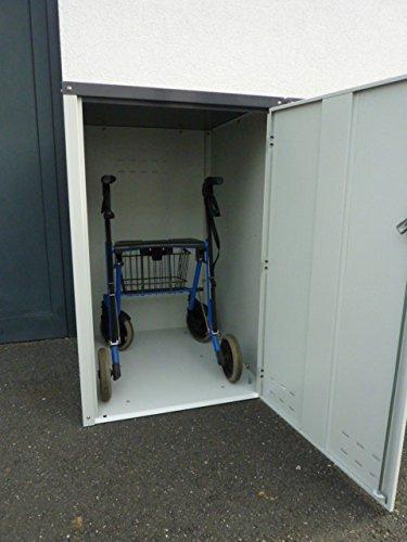 Rollatorbox aus Metall*