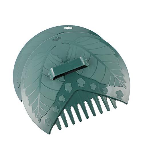 ORIENTOOLS Greifer Laubsammler Laubgreifer aus TOP-Qualitätskunststoff Schnell und kontaktfrei Laub Verschnitt ausfammeln