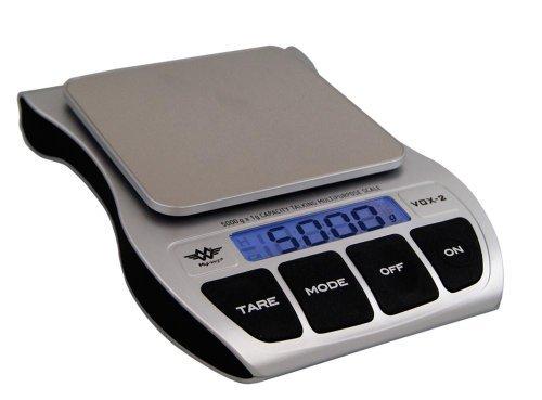 sprechende Waage Küchenwaage digitale Anzeige 1-5.000g Vox 2