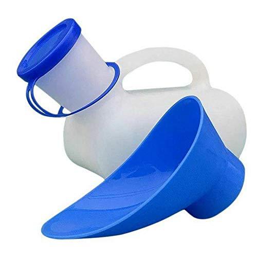 Matedepreso Unisex Potty Urinal tragbare Toliet Urinal Auto Bettpfannen Pee Flasche für Camping Outdoor Travel