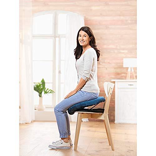 Aufsteh- und Hinsetzhilfe Katapultsitz   Widerstand individuell einstellbar   bequemes Sitzkissen   mobil   bis 100 kg