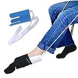 Anziehhilfe für Socken und Strümpfe, Sockenanzieher Sockenanziehhilfe Dressing Assist für ältere, Behinderte