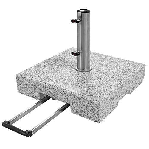 Doppler SL-AZ Granit Auszieh-Griff 72kg Sonnenschirmständer, grau