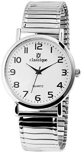 Classique Herren - Uhr Metall Zugband Armbanduhr Comfort Line Analog Quarz 2700011