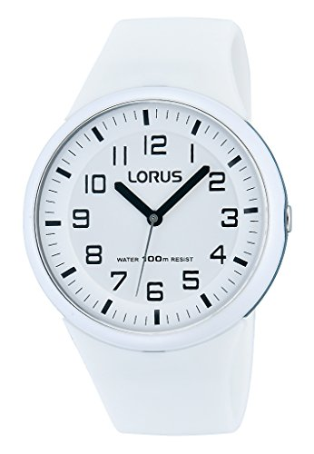 Lorus Fashion Damen-Uhr Edelstahl und Kunststoff mit Silikonband RRX53DX9