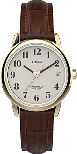 Timex Damen Quarz mit Leder Armband T20071