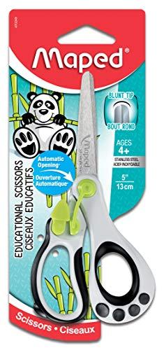 Maped Koopy 470249 Lernschere, für Kinder, 12,7 cm, stumpfe Spitze, für Rechtshänder