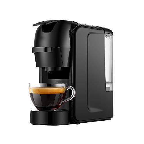Espresso-Kaffeemaschine, Tragbar Und Modisch, Verwendet in Büro Und Zu Hause 220V (Mit EU-Stecker)