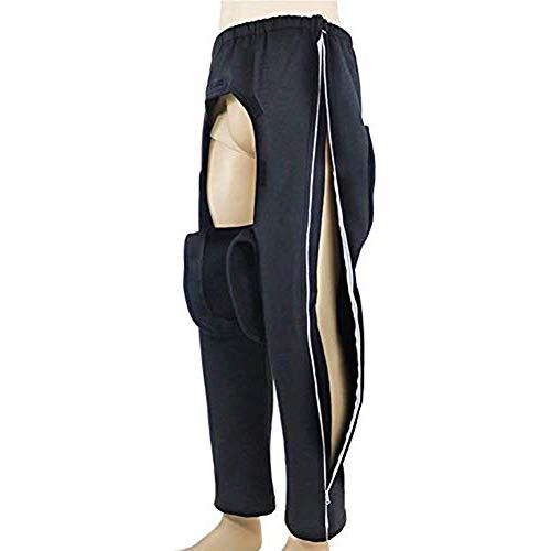 SSLW Patientenpflegehose, Leicht Abgenutzte Lähmungskleidung Ältere Inkontinenzpatienten Hosen Für Behindertengerechte Fraktur, Leicht Zu Tragen Und Zu Nehmen