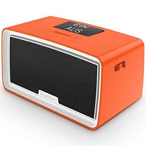 iGuerburn Verbesserter 16GB MP3-Player für Demenzpatienten - Musik Demenzprodukte mit einfacher Handhabung - Geschenke für Menschen mit Alzheimer - Musikbox für ältere Senioren 24x12,5x12cm (Orange)