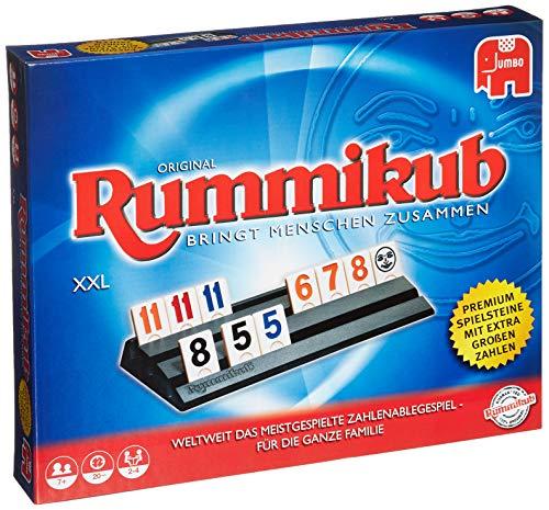 Jumbo Spiele 3819 - Original Rummikub XXL - Gesellschaftsspiel - Ab 7 Jahren