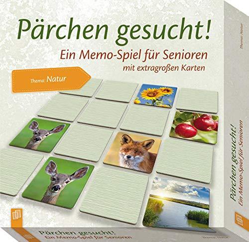Verlag an der Ruhr GmbH Pärchen gesucht - Thema Natur: EIN Memo-Spiel für Senioren mit extragroßen Karten