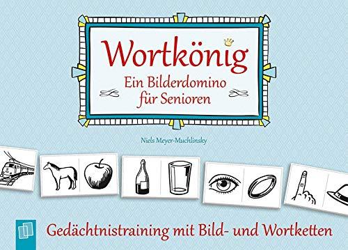 Verlag an der Ruhr GmbH Wortkönig. EIN Bilderdomino für Senioren: Gedächtnistraining mit Bild- und Wortketten