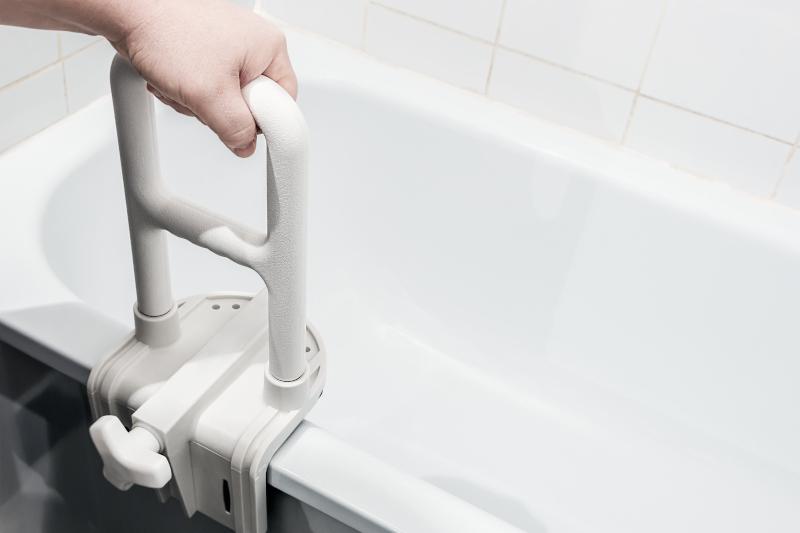 Badehilfen für Senioren