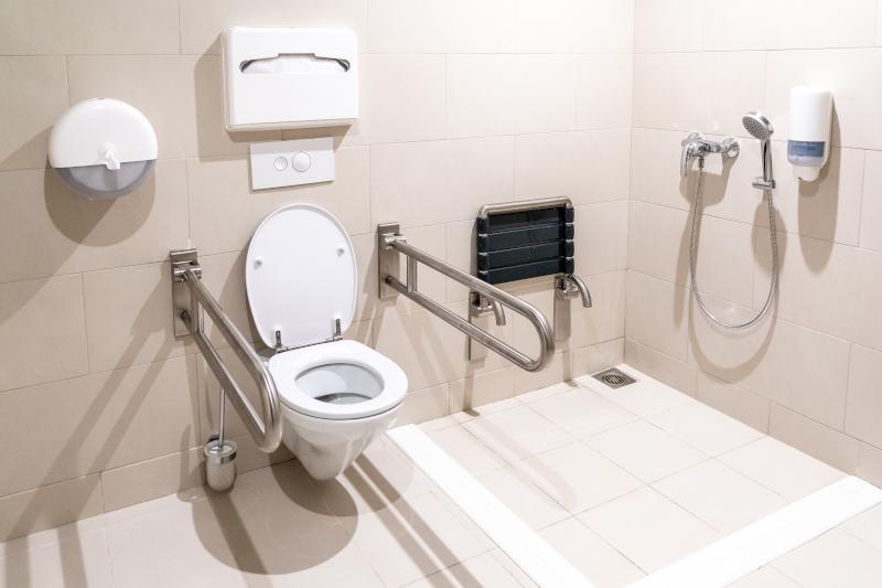 WC-Hilfen für Senioren
